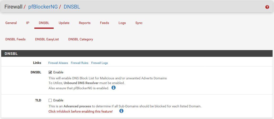pfSense : pfBlockerNG devel - Protection Contre La Publicité