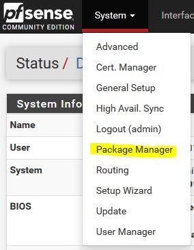 pfSense : Proxy Transparent Filtrage Web URL Squid SquidGuard | PC2S